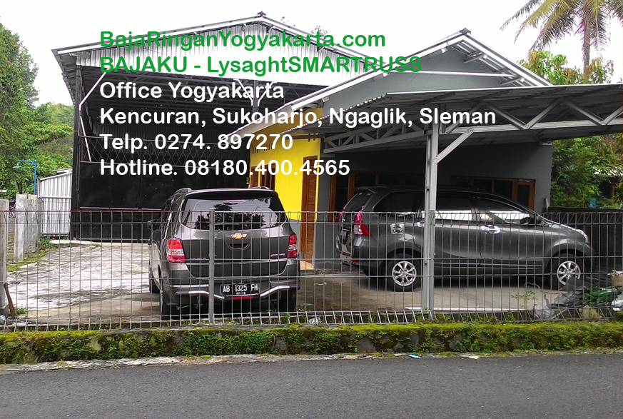 Kantor dan Workshop BAJAKU Yogyakarta