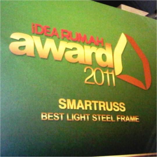 Rangka Atap Smartruss Best Light Steel Frame