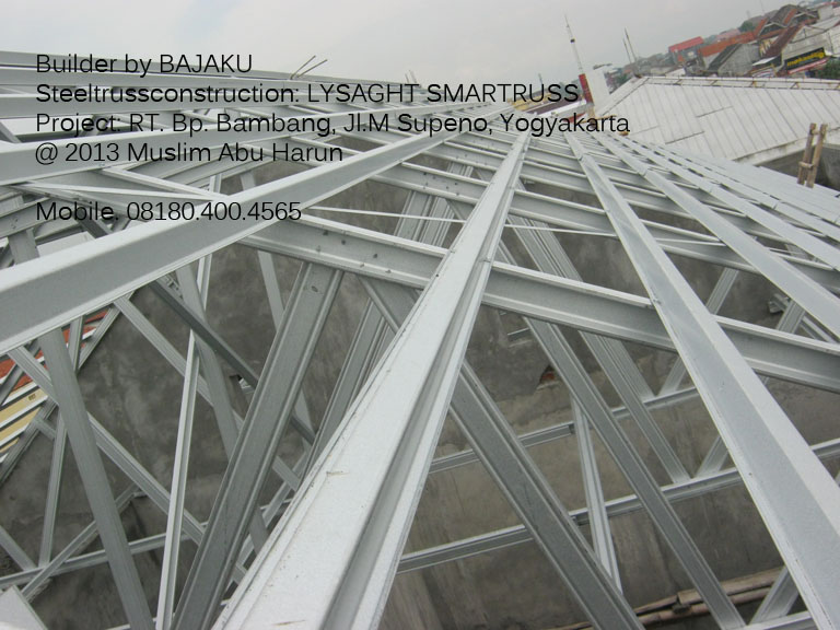 Baja Ringan Lysaght Smartruss: photo proyek Yogyakarta