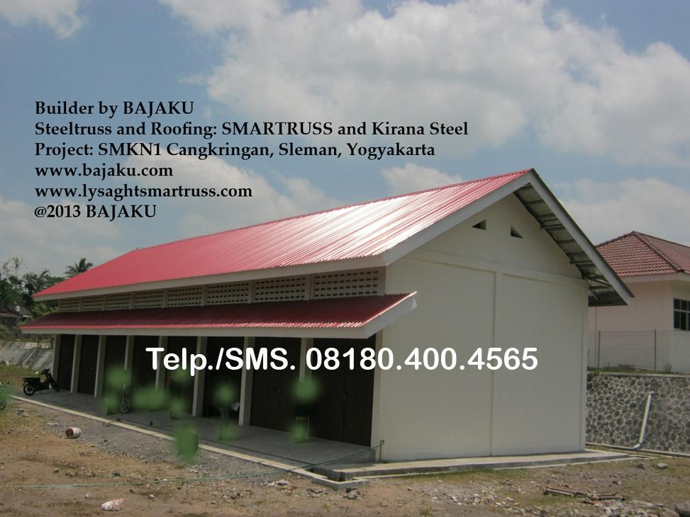 Atap-BlueScope Zincalume-Galvalume-BAJAKU_proyek-SMK-Cangkringan