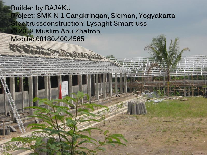 Smartruss Baja Ringan Proyek SMK Cangkringan