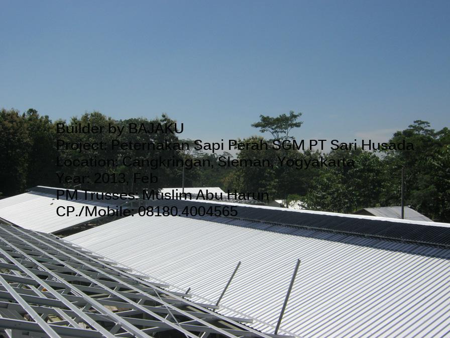 Atap Zincalume untuk peternakan