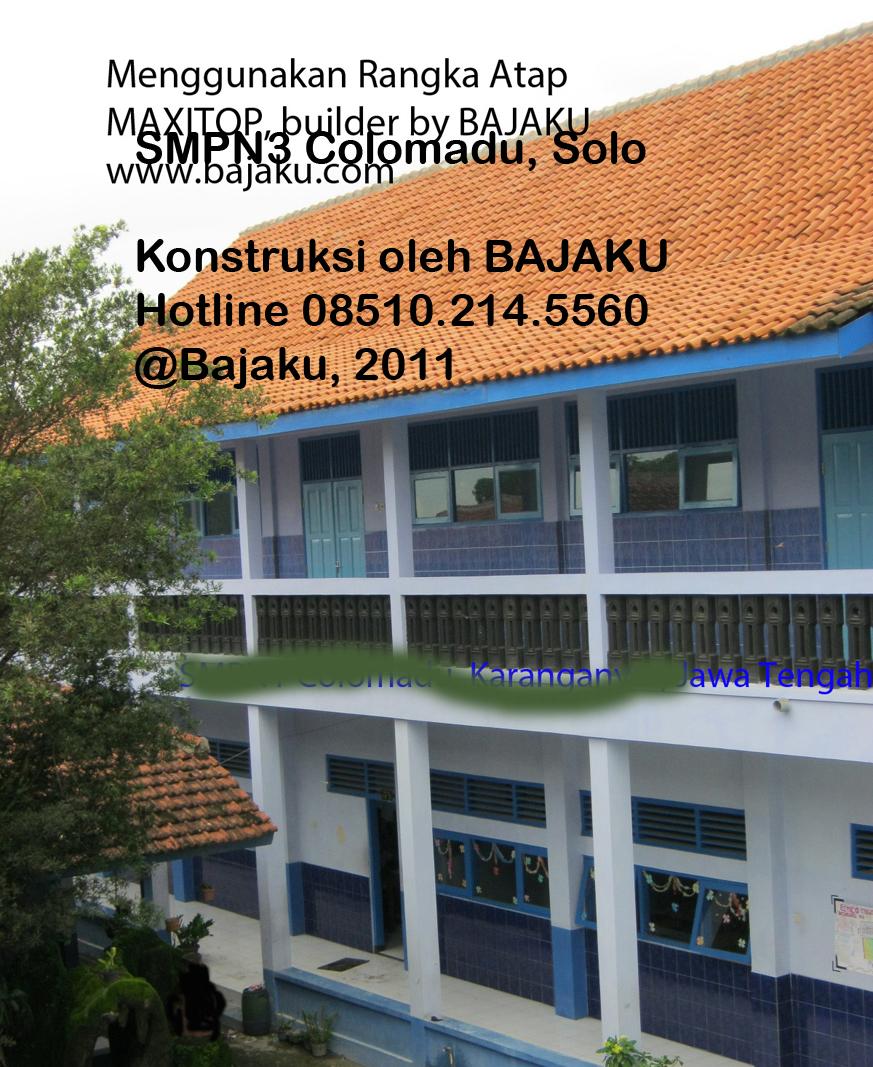 BAJAKU Baja Ringan Solo_Sekolahan-SMPN3 Colomadu_photo3