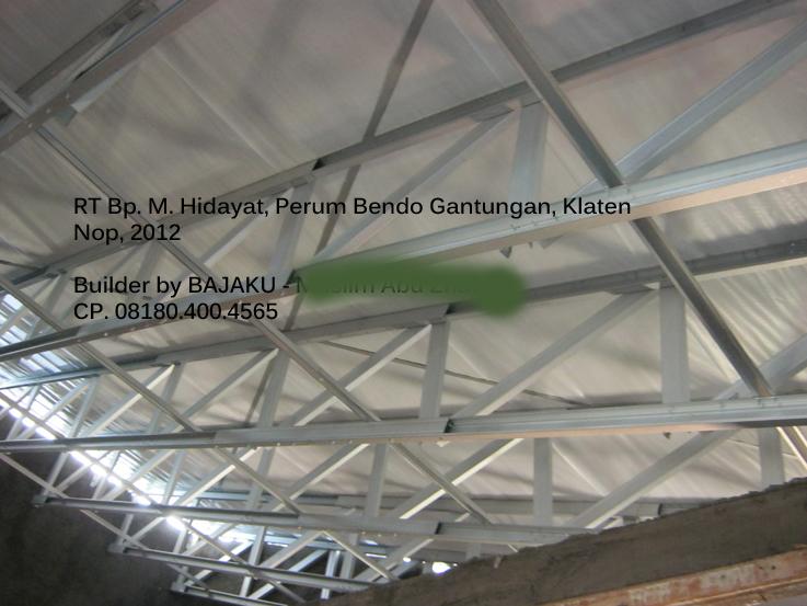 Baja Ringan BAJAKU-Kremona rangka atap