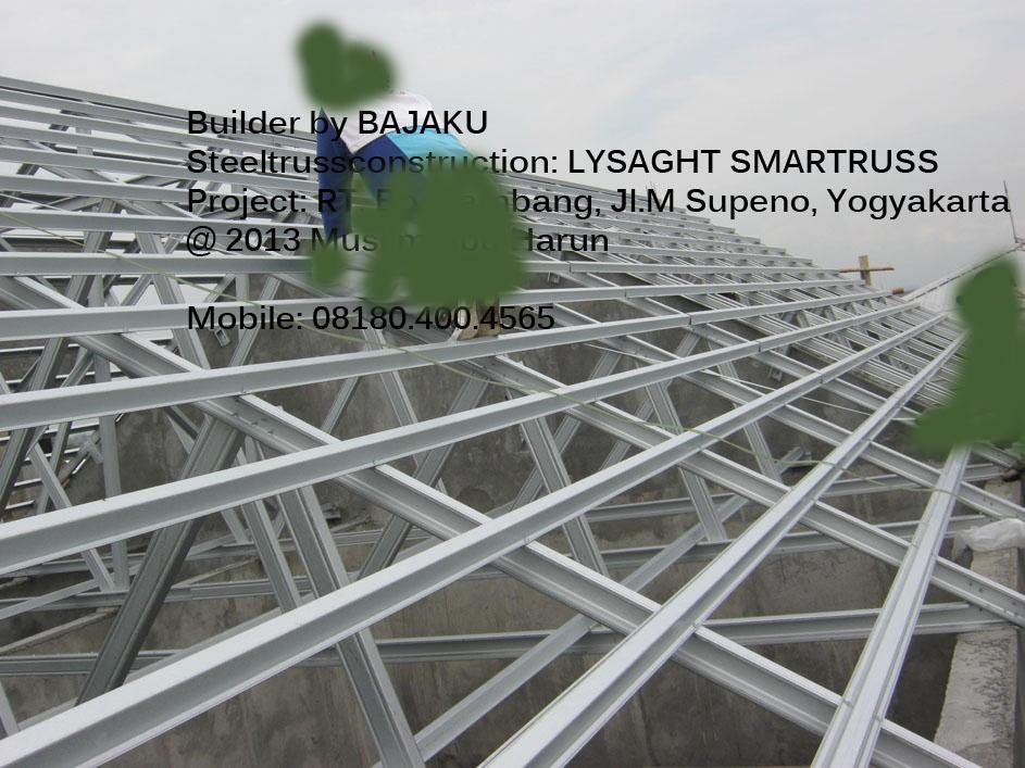 Baja-Ringan-Lysaght-Smartruss-Yogyakarta-Ruko M Supeno