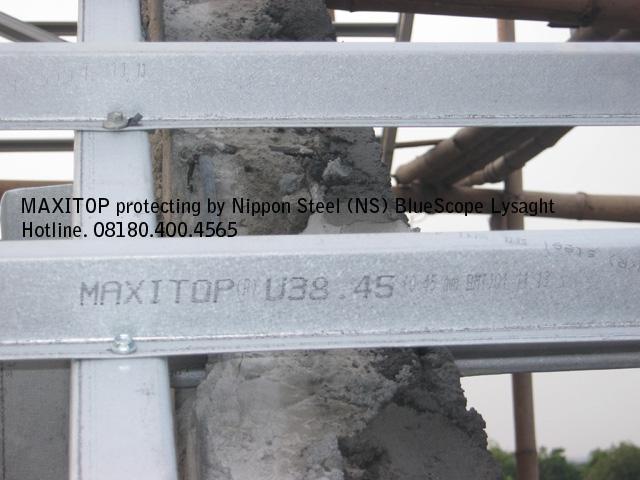 NS BlueScope Lysaght MAXITOP