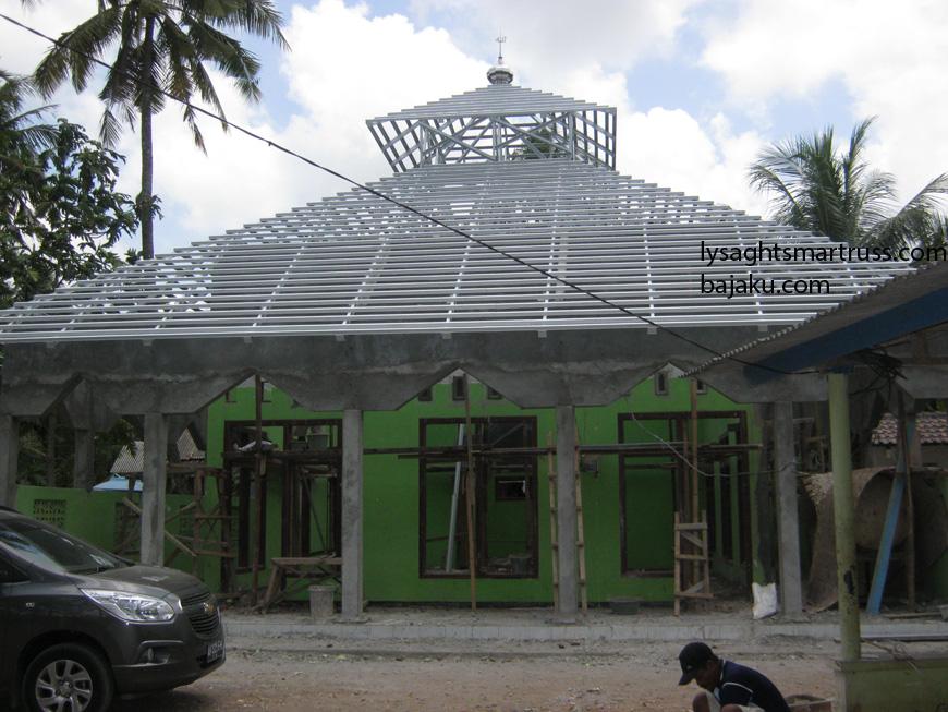 Renovasi Masjid Baitussyarif - BAJAKU SMARTRUSS