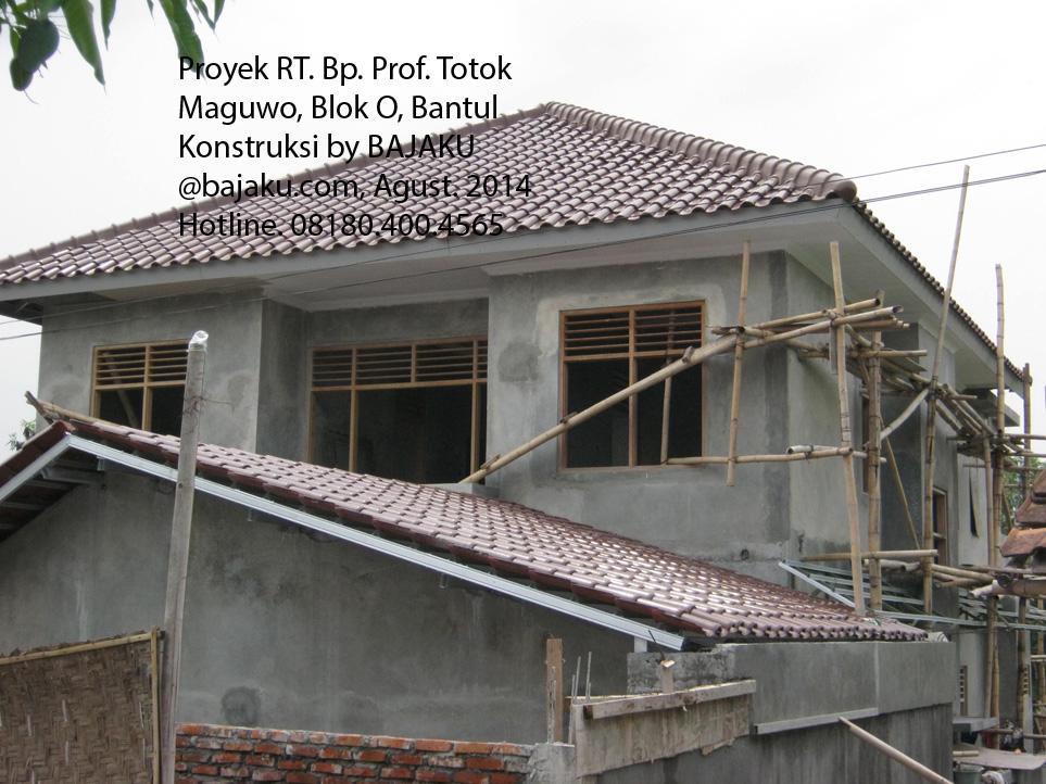 Bangun Rumah - Baja Ringan Bantul Yogyakarta