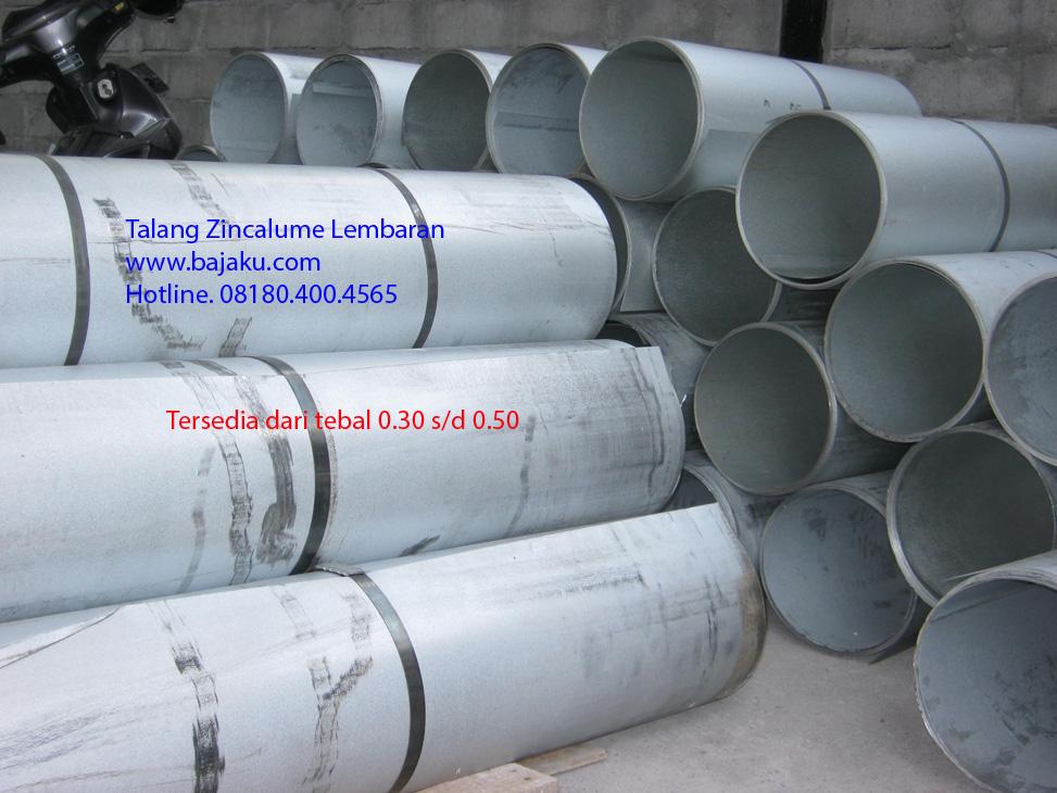 Talang Zincalume Lembaran dari BlueScope Steel