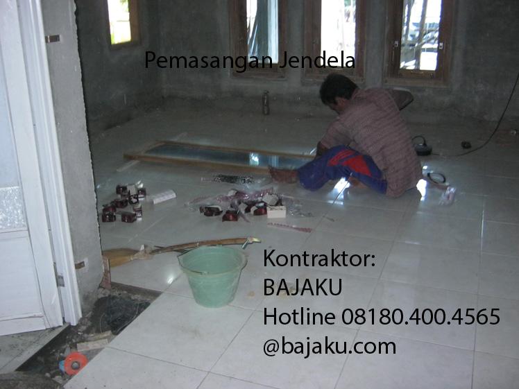 pemasangan jendela-kontraktor rumah bangunan