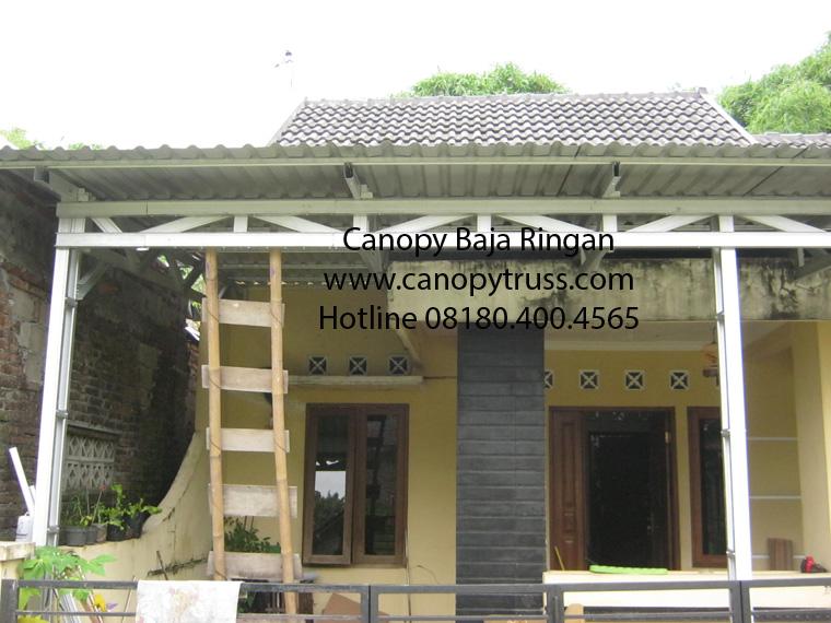 Canopy Baja Ringan Klaten Rumah Tinggal Bp Wawan