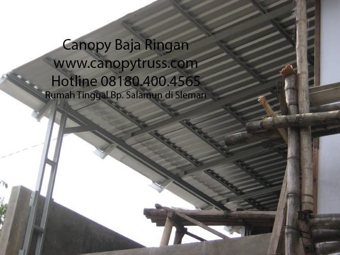 Canopy Garasi Kanopi Baja Ringan Yogyakarta