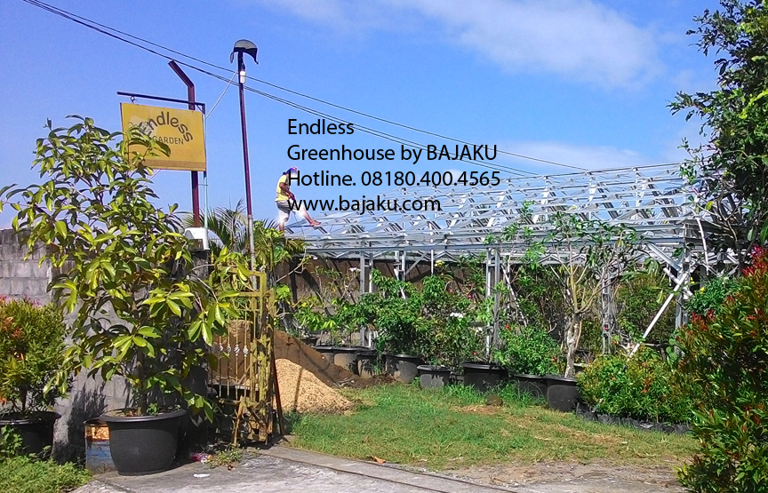 Greenhouse Taman Bunga Mini