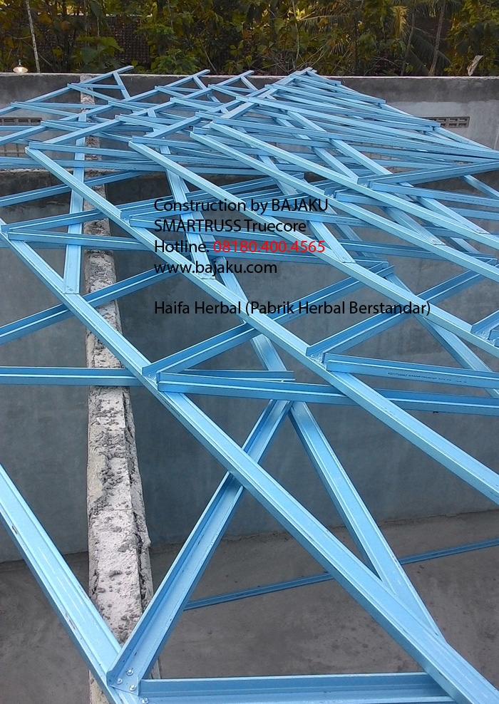 SMARTRUSS Indonesia warehouse project