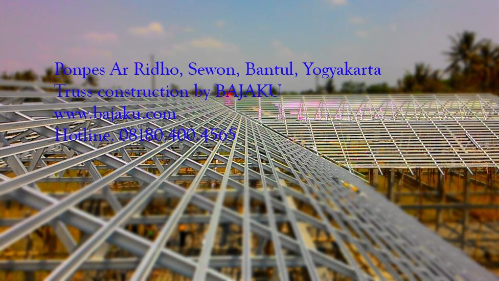 Baja Ringan Bantul BAJAKU_proyek_ponpes Ar Ridho-photos1
