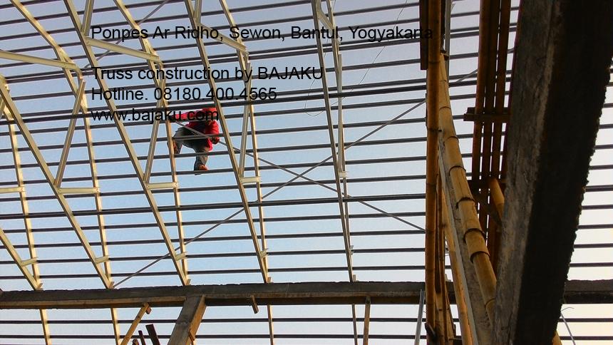 Atap SMARTRUSS Baja Ringan oleh BAJAKU