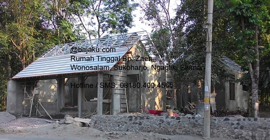 Baja Ringan Sleman Proyek Rumah Tinggal Wonosalam Oleh