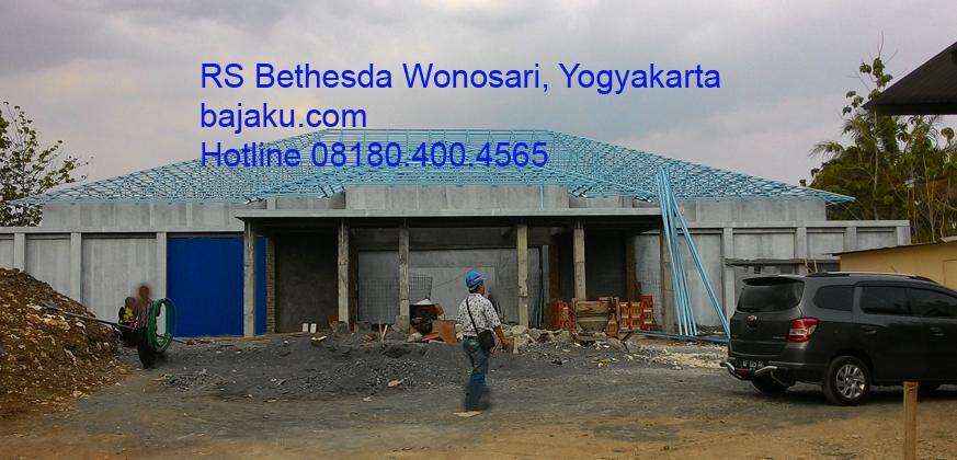 SMARTRUSS Proyek RS Bethesda Wonosari by BAJAKU