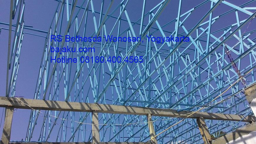 BAJAKU - SMARTRUSS Proyek RS Bethesda Wonosari