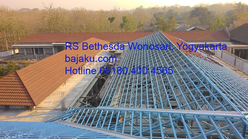 BAJAKU Baja Ringan Proyek RS Bethesda Wonosari Yogyakarta