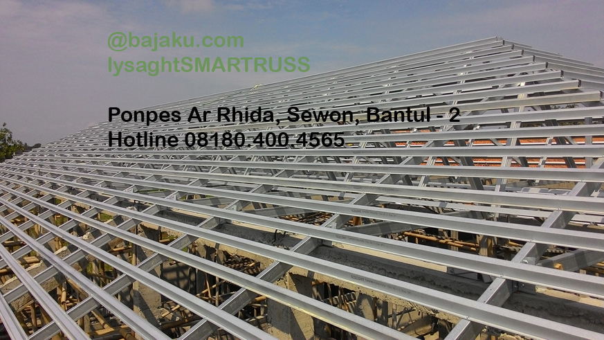 BAJAKU-Baja Ringan Lysaght SMARTRUSS-BlueScope_ArRidho2-photo2