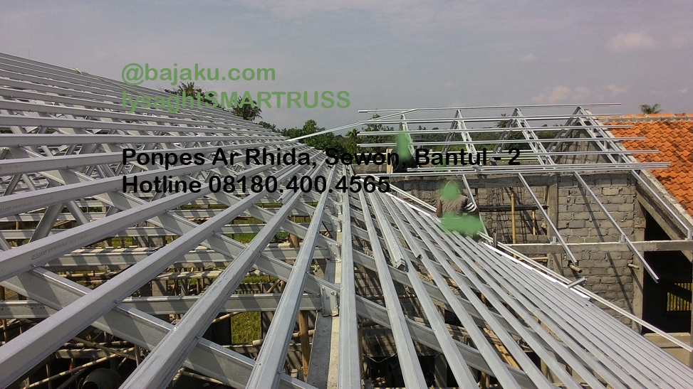 BAJAKU-Baja Ringan Lysaght SMARTRUSS-BlueScope_ArRidho2-photo3