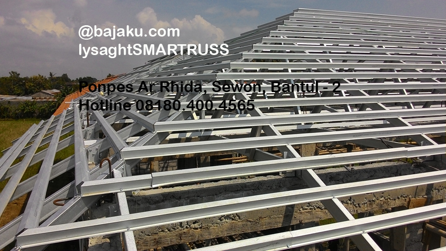 BAJAKU-Baja Ringan Lysaght SMARTRUSS-BlueScope_ArRidho2-photo4
