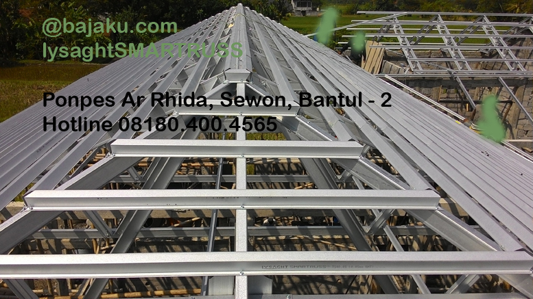 BAJAKU-Baja Ringan Lysaght SMARTRUSS-BlueScope_ArRidho2-photo6