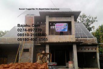 Baja Ringan BAJAKU Konstruksi Proyek di Bayat Klaten