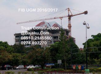 Konstruksi Rangka Atap Universitas Gadja Mada Gedung FIB, Peternakan dan G7 Kependudukan