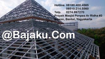 BlueScope Baja Ringan BAJAKU Konstruksi Ar Ridha#3 Yogyakarta