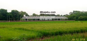 Light Steel Construction for Cow Cages in Klaten by BAJAKU